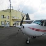 Our plane in Arad
