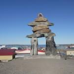 Rankin Inlet big Inukshuk