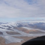 Crossing the smaller mountains, enjoying the view of the glaciers