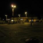 Sibiu main square by night