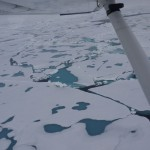 The Geographical North Pole @ 400ft