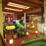 Playground inside the hotel